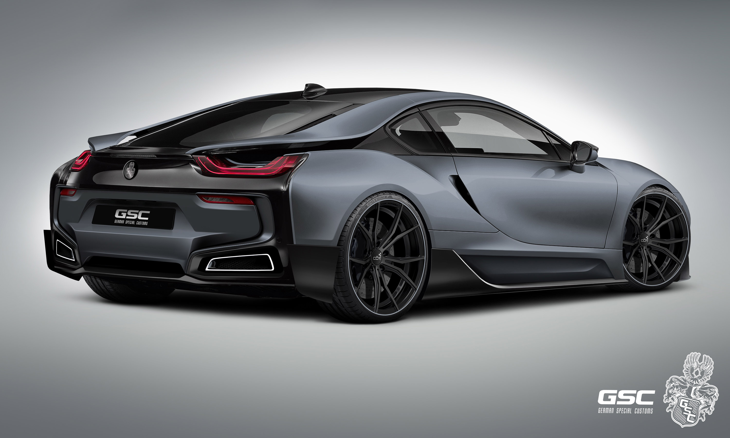 Bmw Luxury Cars Hd Wallpapers German Special Customs Previews The Bmw I8 Itron
