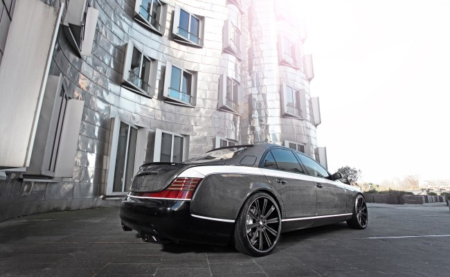 An Exclusive Maybach 57s By Knight Luxury