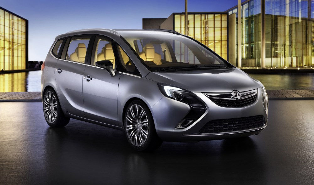 medium resolution of vauxhall zafira tourer concept