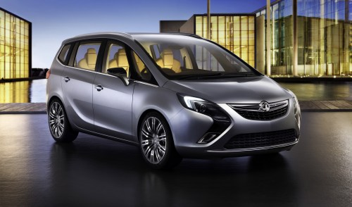 small resolution of vauxhall zafira tourer concept