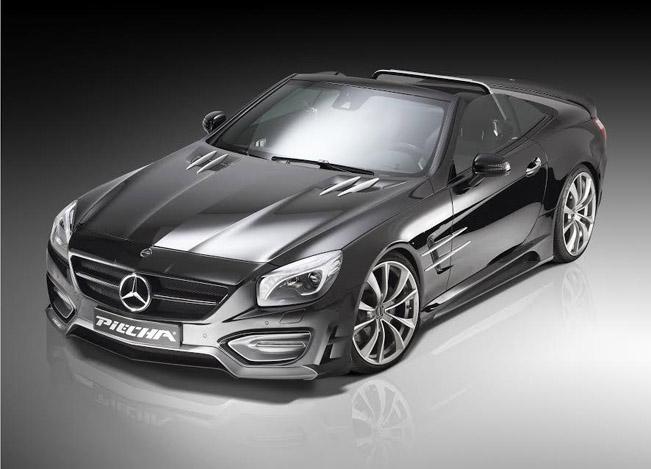 Piecha Design Mercedes Benz Sl Avalange Gt R