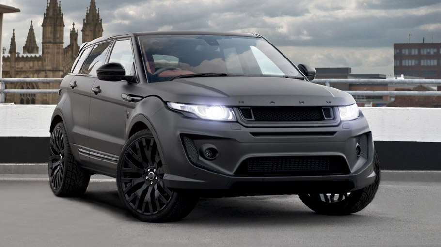 How About An Extra Tuning For The Evoque Yes Please
