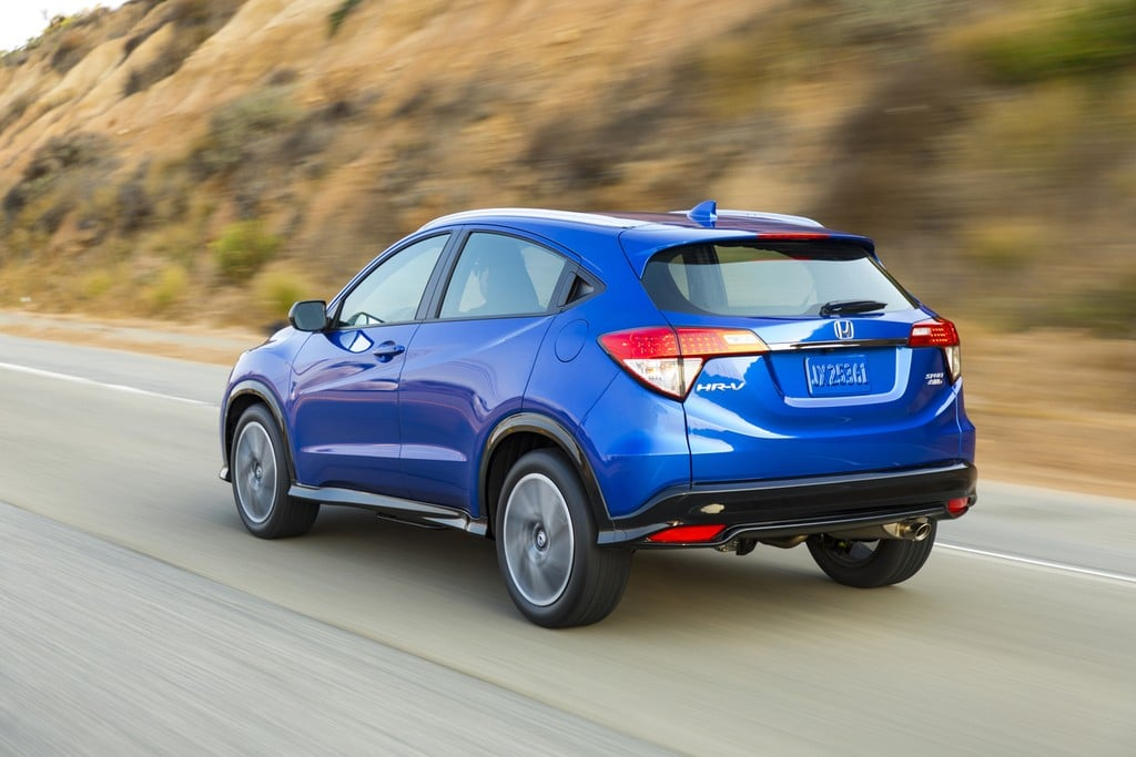 2019 Honda HRV New Look New Features Old Volume Knobs