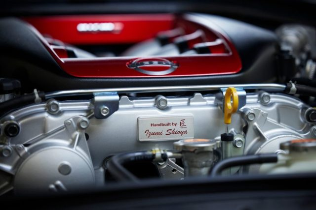 Nissan GT-R NISMO Special Edition under the hood.