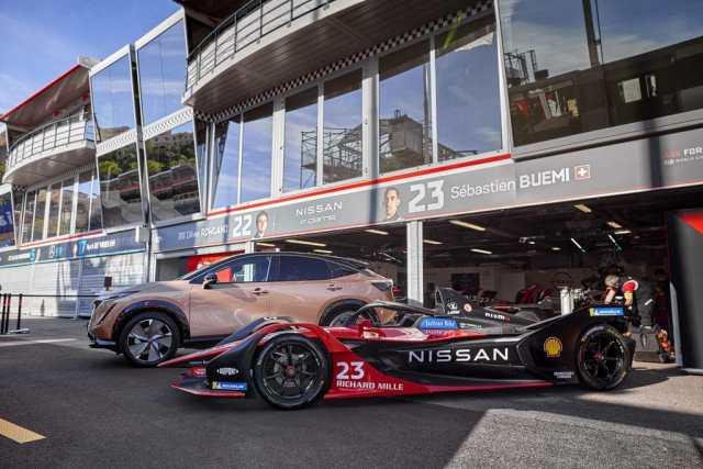 Nissan Formula E.