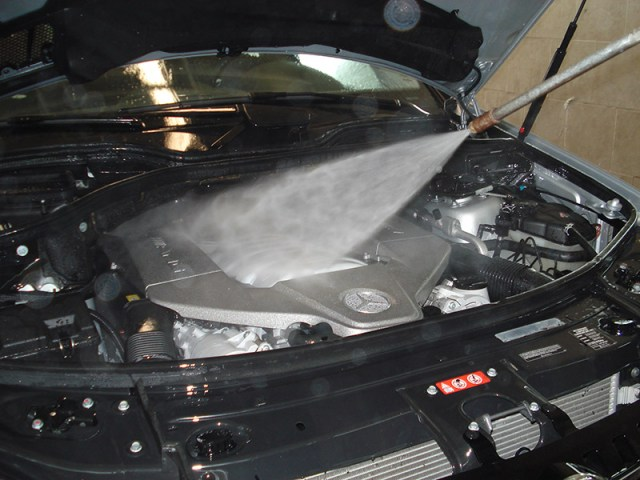 engine washing
