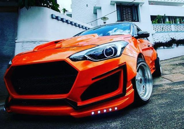 Hyundai Elite i20 Modified Orange