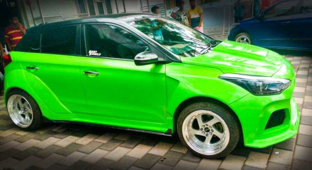 i20 elite modified alloys green