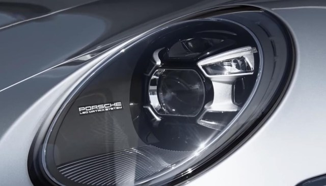 2019 porsche 911 turbo review images front headlight