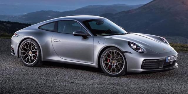 2019 porsche 911 turbo review images side length