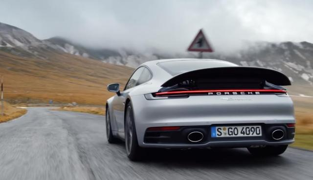 2019 porsche 911 turbo review images back rear taillights