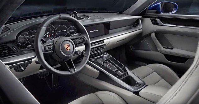 2019 porsche 911 turbo review images interior dashboard touchscreen center console