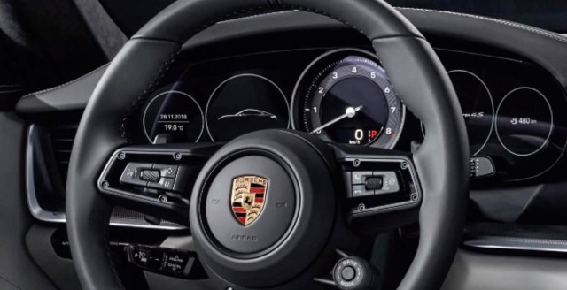 2019 porsche 911 turbo review image speedometer dials steering