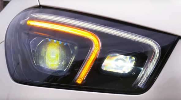 Mercedes Benz GLE 2019 headlamps