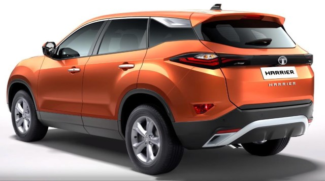 2019 Tata Harrier Exterior Back Side