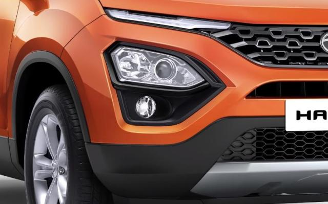 Tata harrier first impressions front headlights