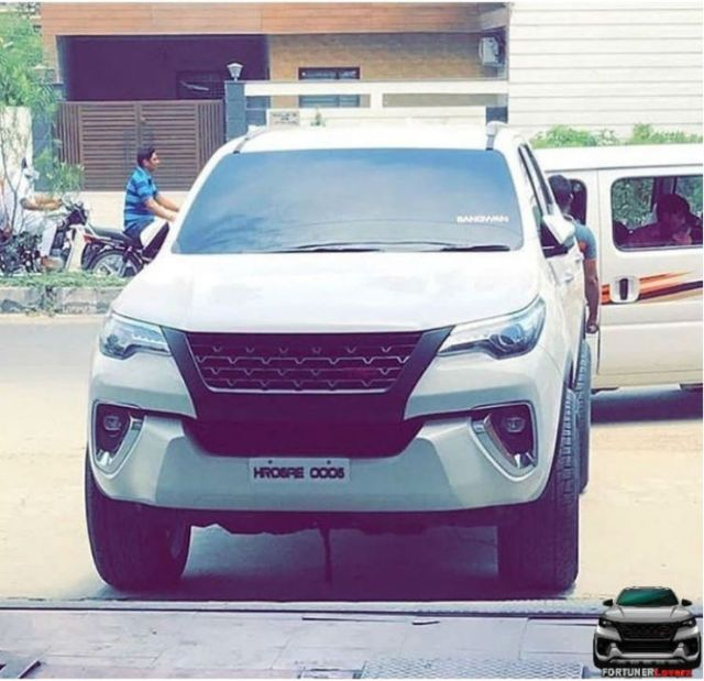 2018 Toyota Fortuner modified trd
