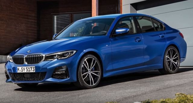BMW 3 series exterior new 2019