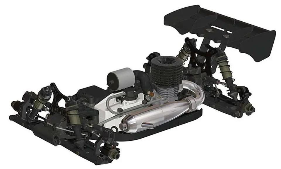 HB Racing D817 V2 - HotBodies D817 Version 2