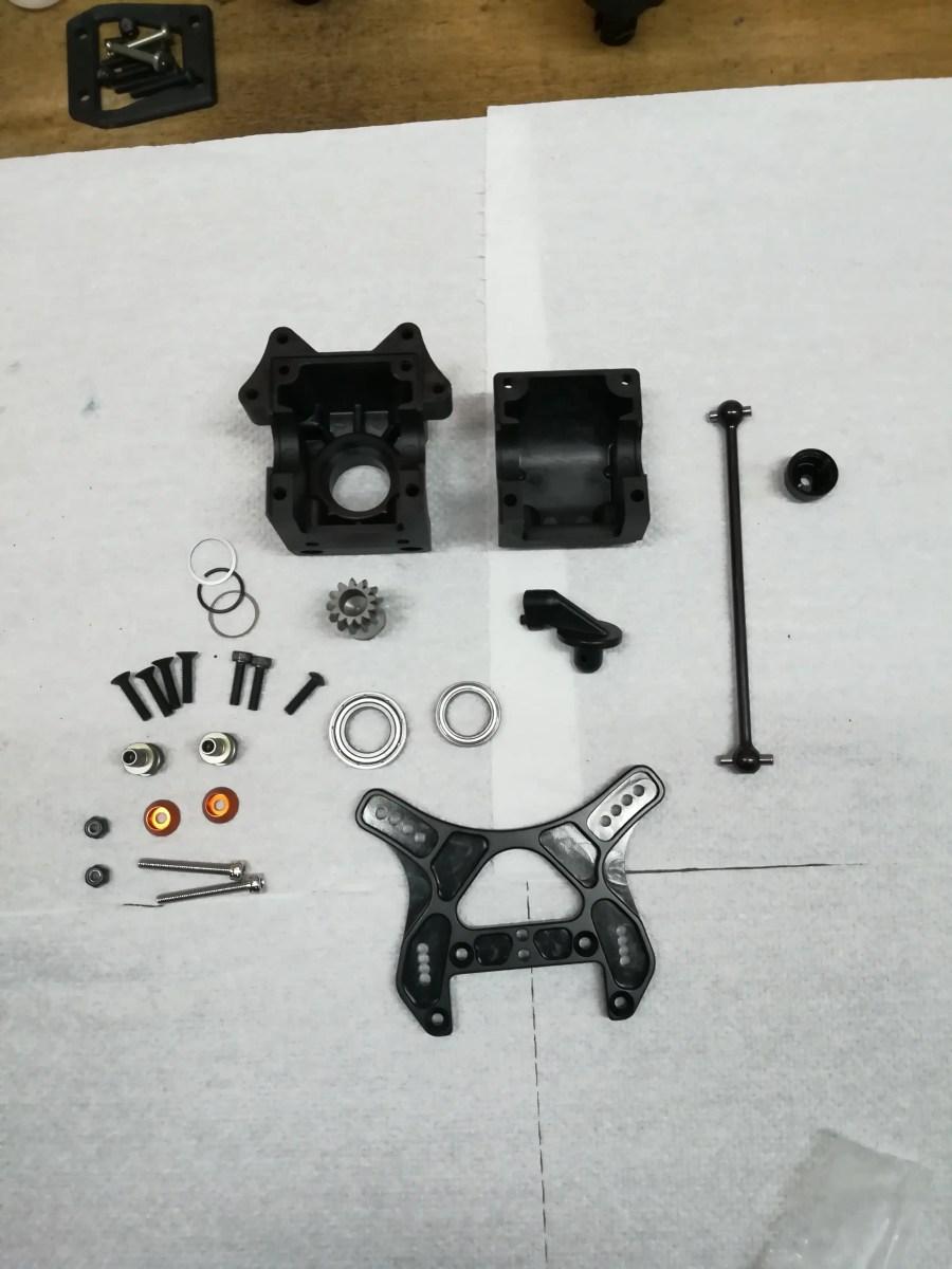 HB D817v2 guida al montaggio by Ruggy300 – Parte 5 – Anteriore