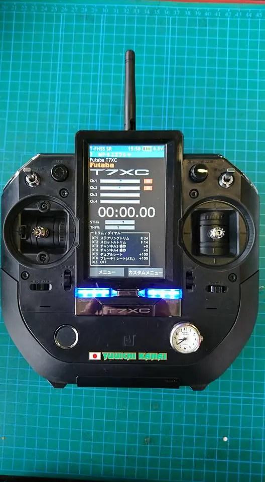 Futaba T7XC - Ammiraglia a stick