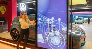 Separate exhibition area for the Volkswagen ID. family in the Autostadt GroupWorld