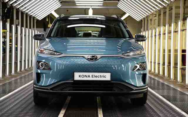 Hyundai Motor boosts Kona Electric supply for Europe