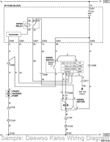Daewoo Cielo Electrical Wiring Diagram Daewoo Car Manual Pdf Amp Diagnostic Trouble Codes
