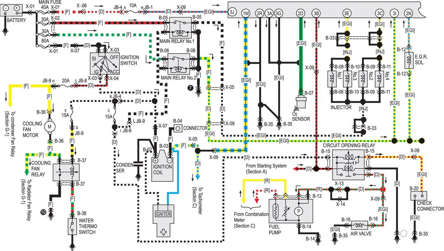 1992 mazda b2200 alternator wiring diagram 87 mazda b2200 ignition wiring diagram wiring diagrams [ 1482 x 838 Pixel ]