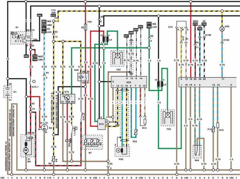 mercedes benz wiring diagrams free 1999 toyota 4runner radio diagram opel car manuals pdf fault codes download