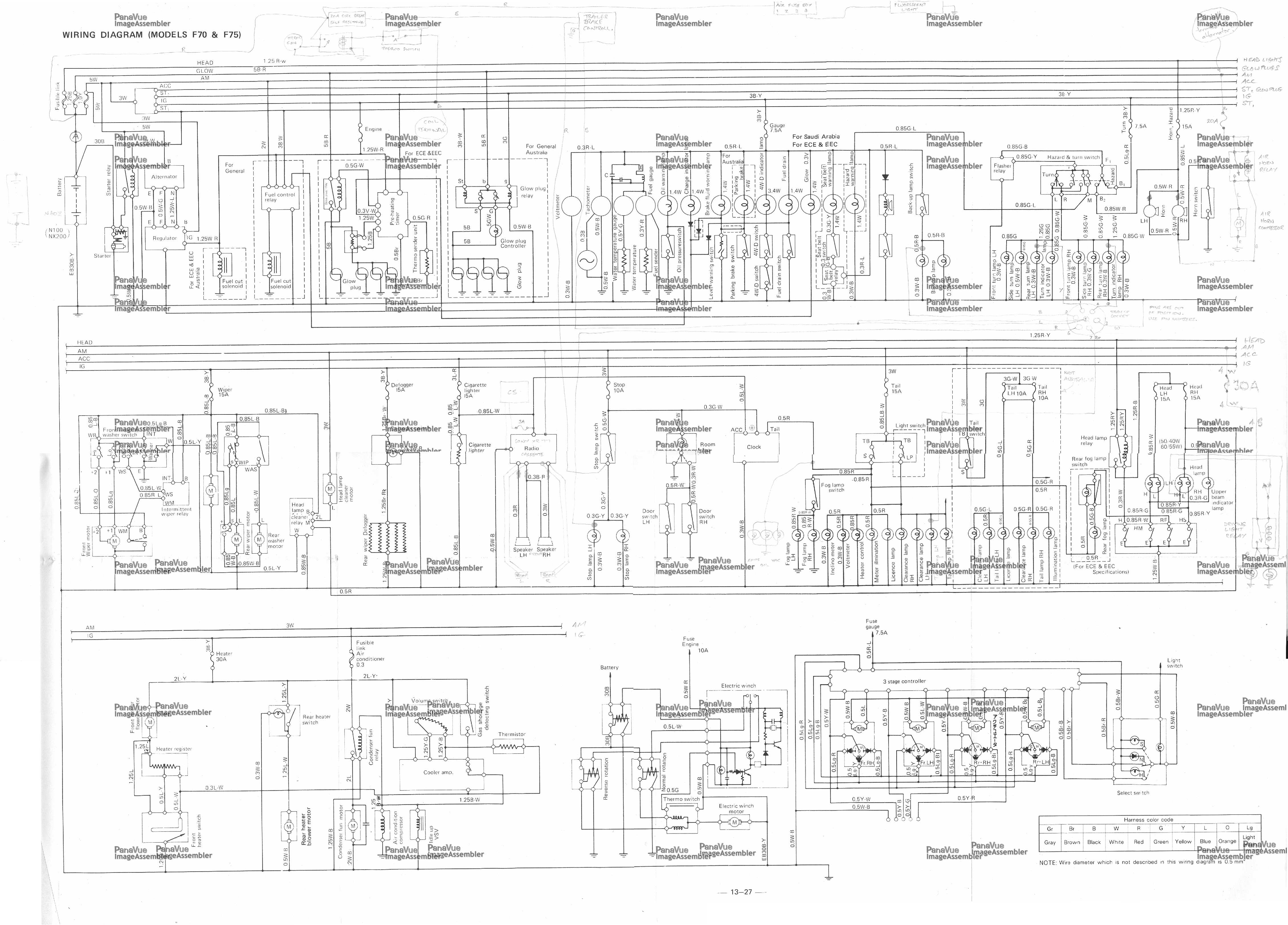 toyota forklift error code 61 how to clear cat mitsubishi forklift rh verrillos com 3245 toyota forklift wiring diagrams  [ 4521 x 3245 Pixel ]