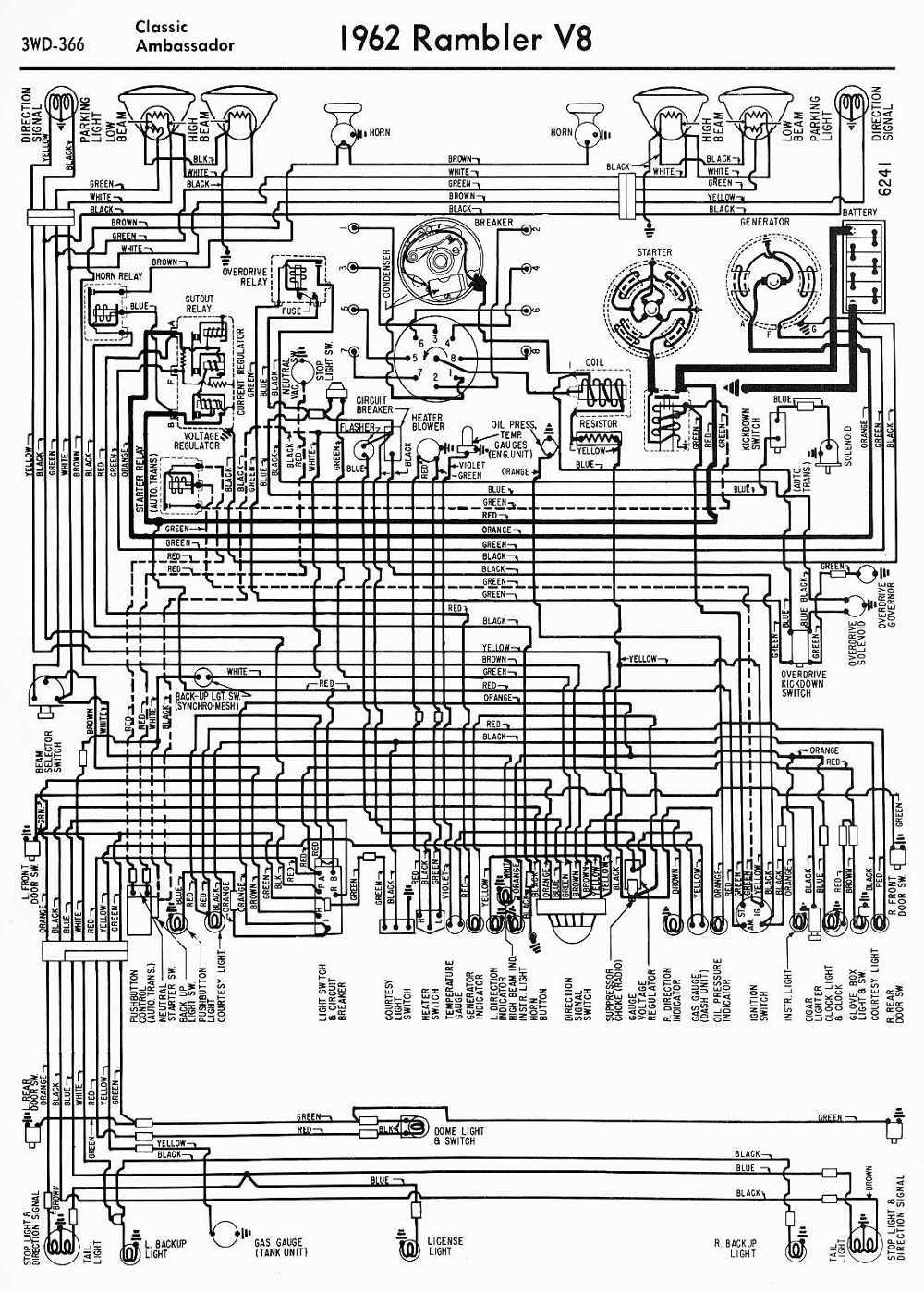 amc car manuals wiring diagrams pdf fault codes 1973 amc ambassador 1973 amc wiring diagram [ 1000 x 1398 Pixel ]
