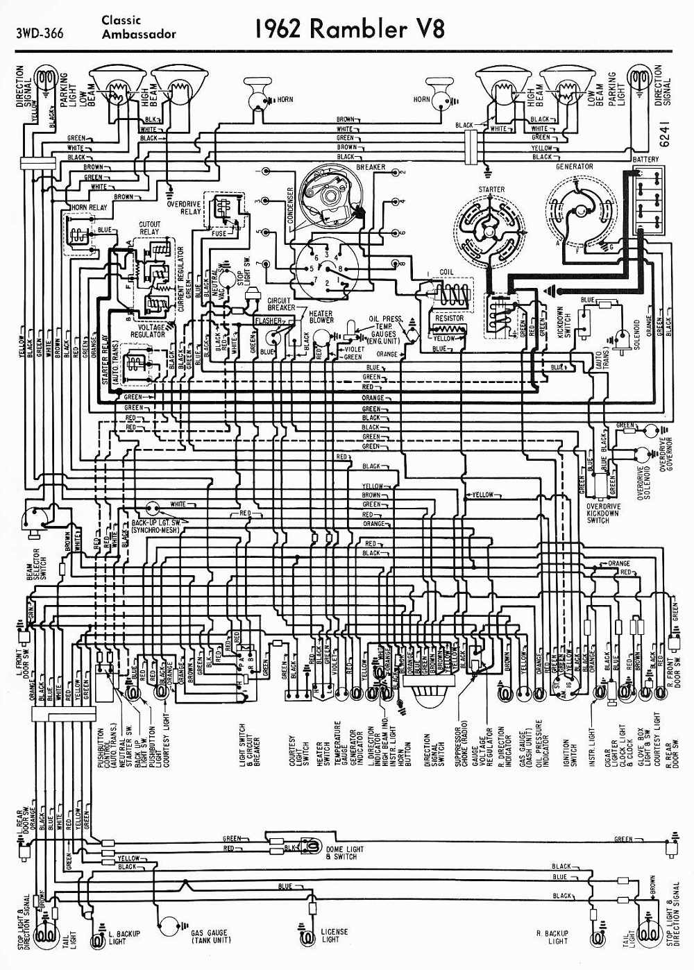 hight resolution of amc car manuals wiring diagrams pdf fault codes 1973 amc ambassador 1973 amc wiring diagram