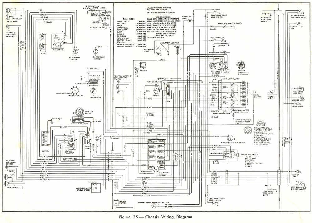 1960 buick lesabre wiring diagram