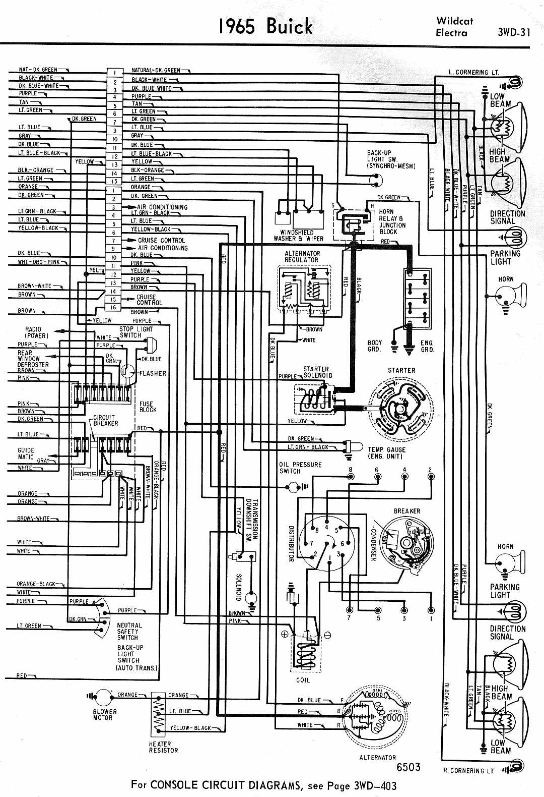 buick electra wiring diagram