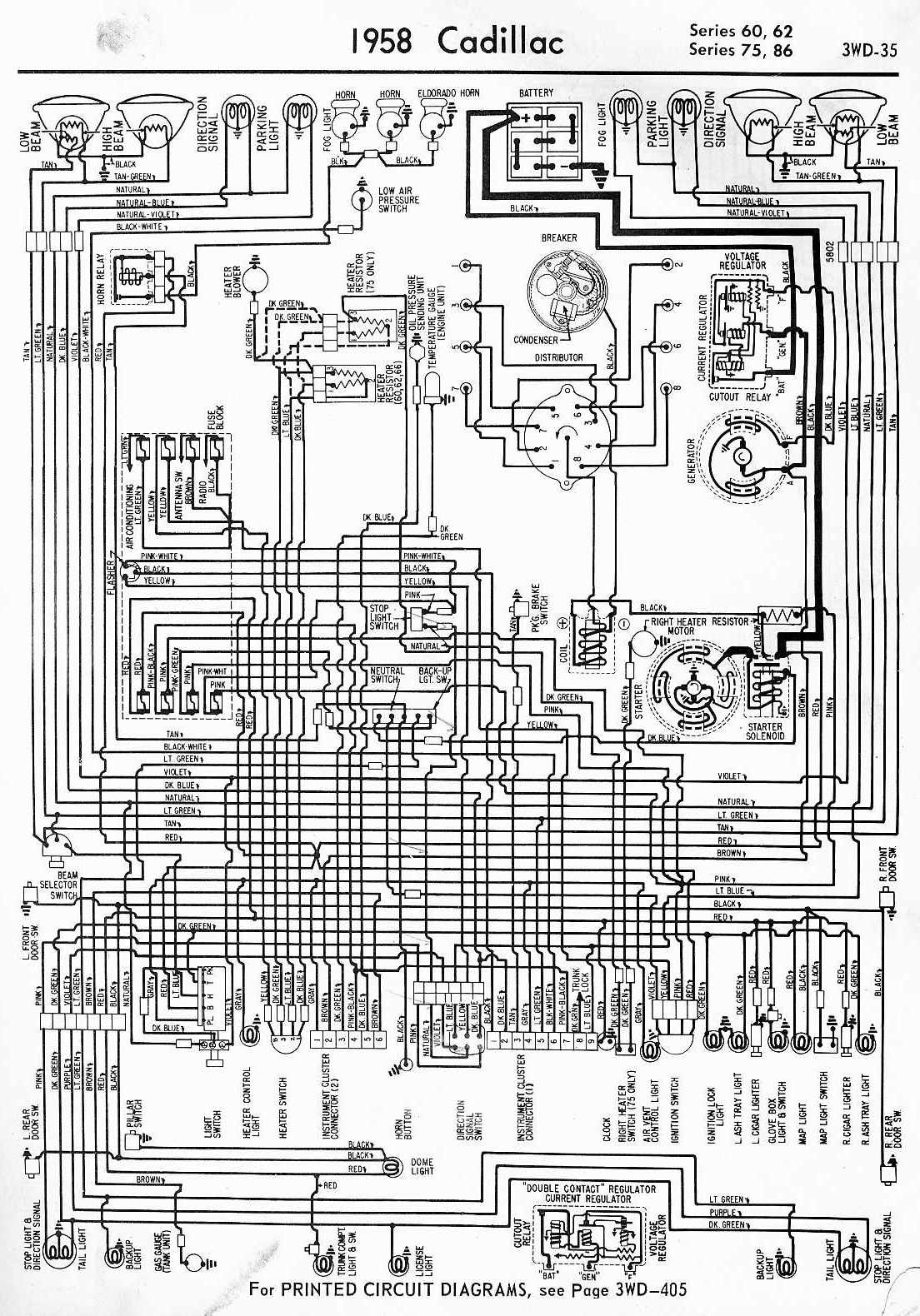 Cadillac Deville Concour Wiring Diagram And Electrical