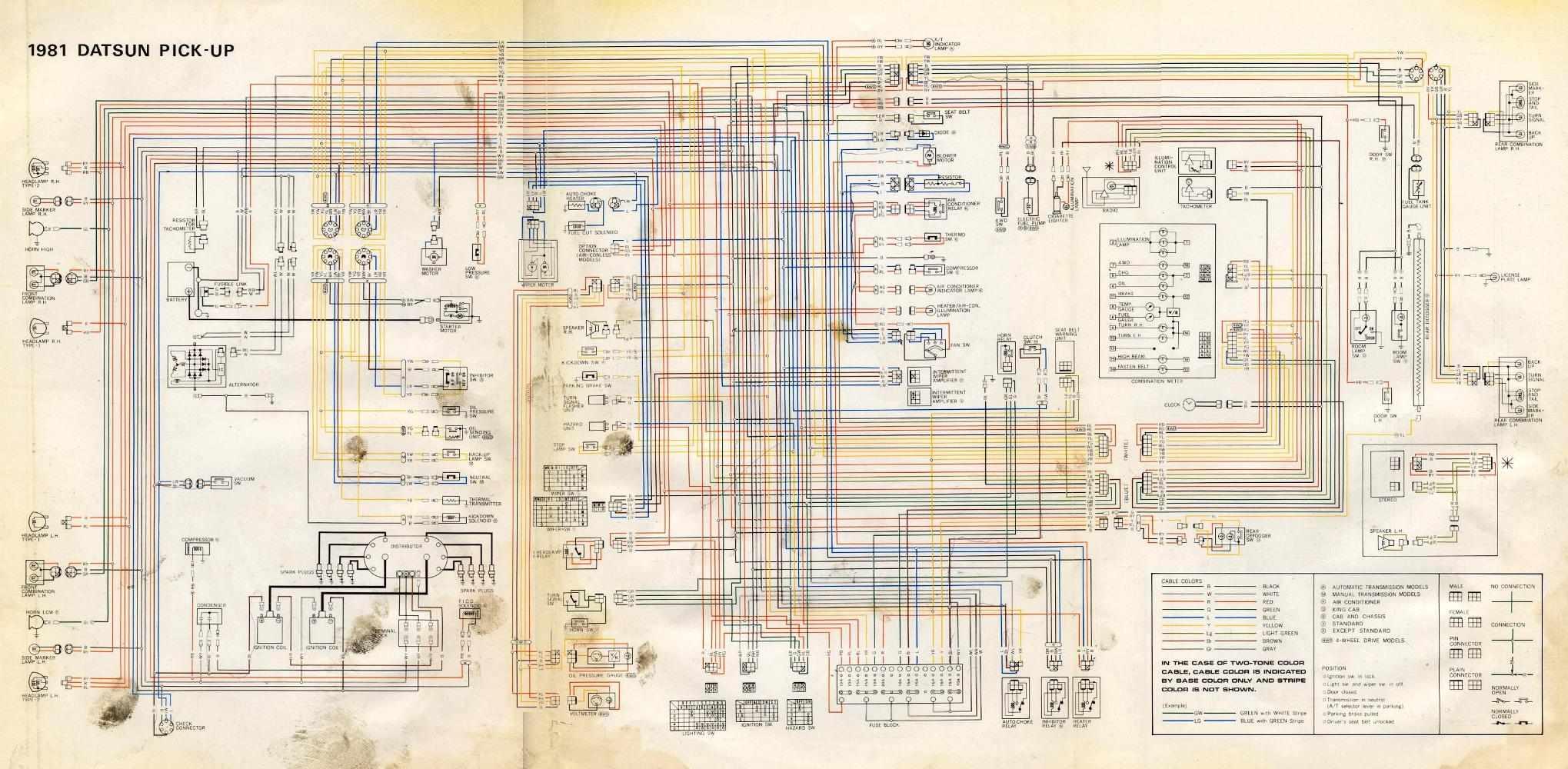 nissan navara ute wiring diagram [ 2039 x 1000 Pixel ]