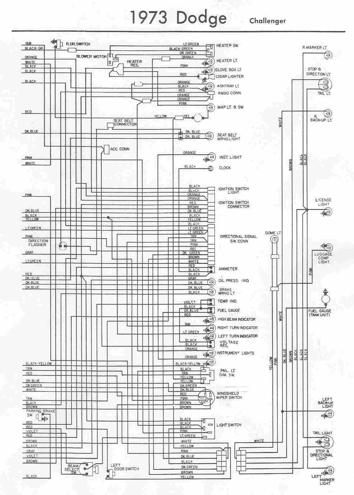 medium resolution of 1973 satellite wiring diagram starter