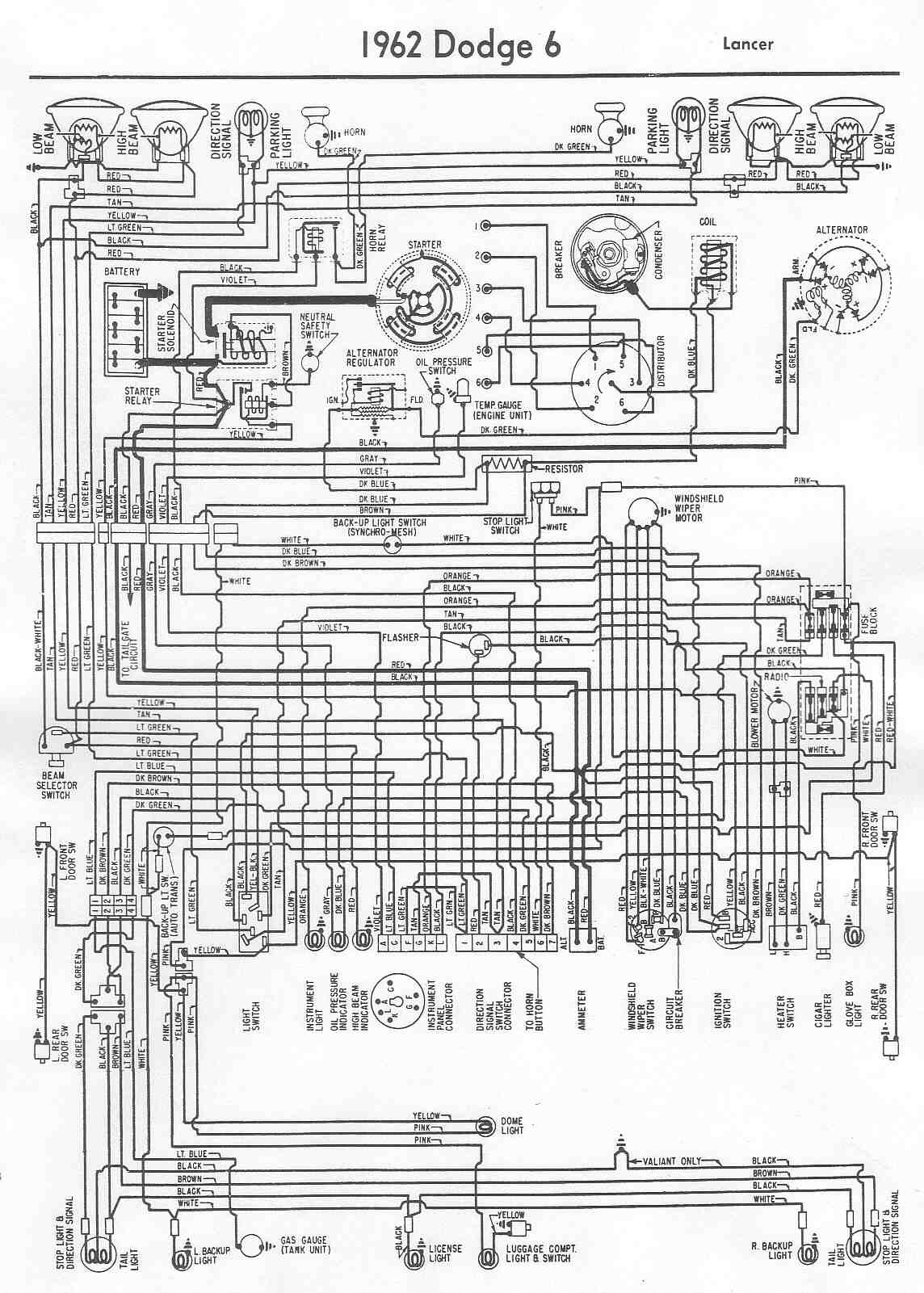 dodge dakota alternator wiring diagram 1999 ford explorer 1966 d100  for free