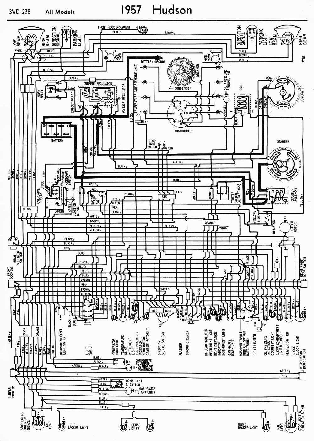 hight resolution of wiring diagrams of 1957 hudson all models wiring diagram home wiring diagram of 1957 ford 6 all models