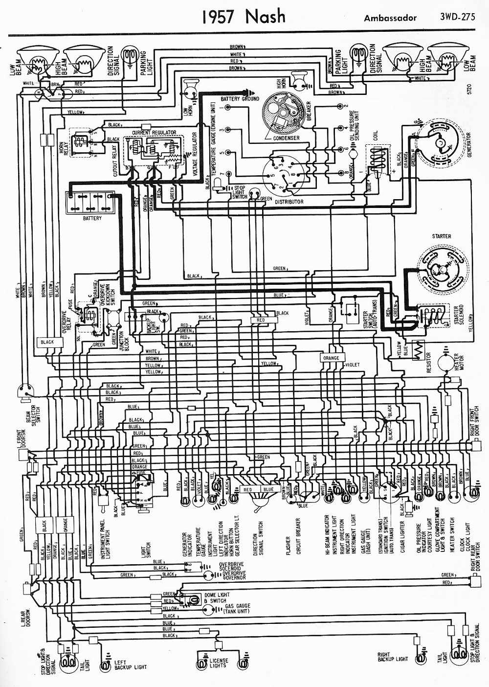 medium resolution of wiring diagram for 1950 nash wiring diagram name nash trailer wiring diagram