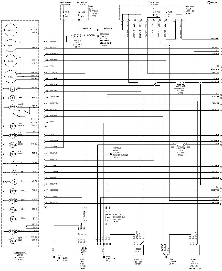 1994 Mitsubishi Montero Instrument Cluster Circuit Schematic Diagram 1?resize\=665%2C814\&ssl\=1 mitsubishi pajero wiring diagram wiring diagram weick pajero glow plug wiring diagram manual at bakdesigns.co