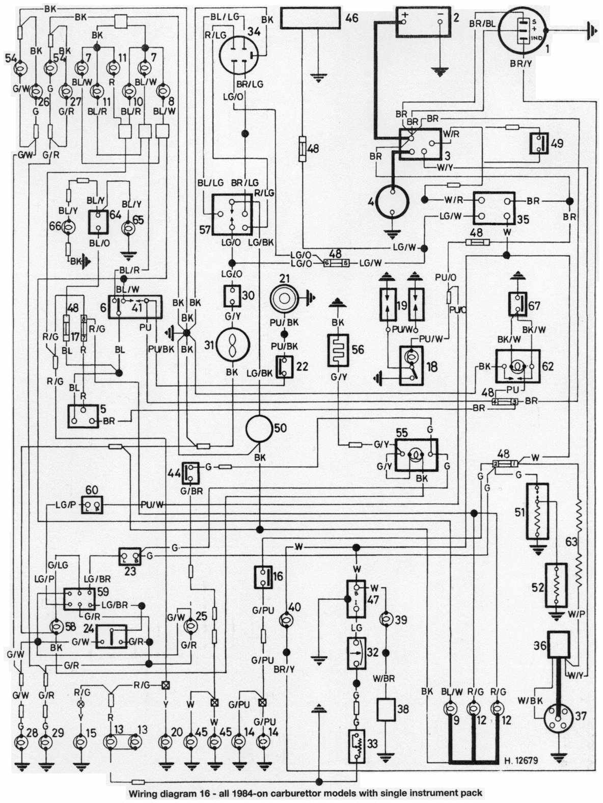 1985 Austin Mini Wiring Diagram  Wiring Diagram