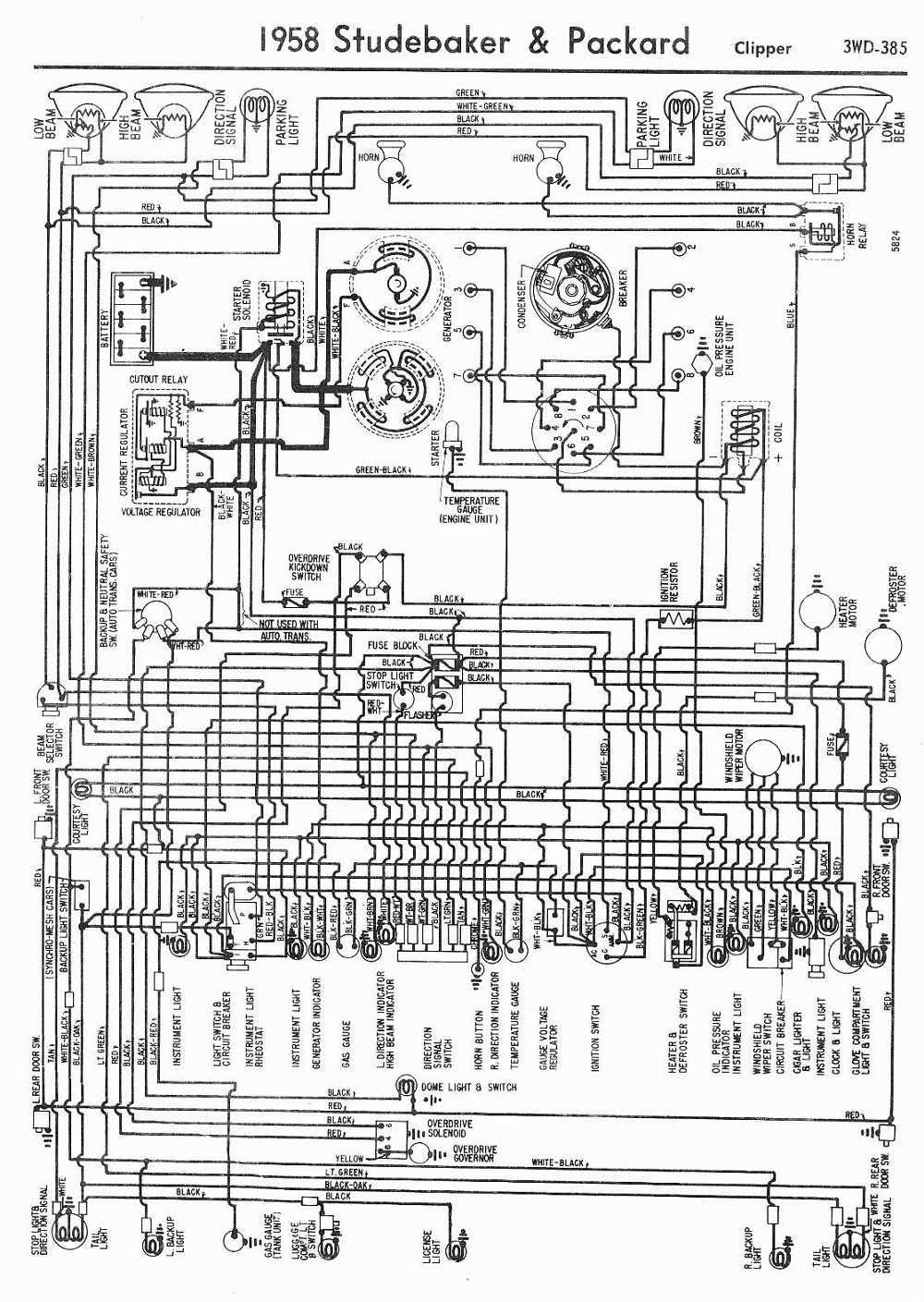 hight resolution of 1950 packard wiring diagram wiring diagram for you rh 7 4 carrera rennwelt de 1952 packard 1948 packard