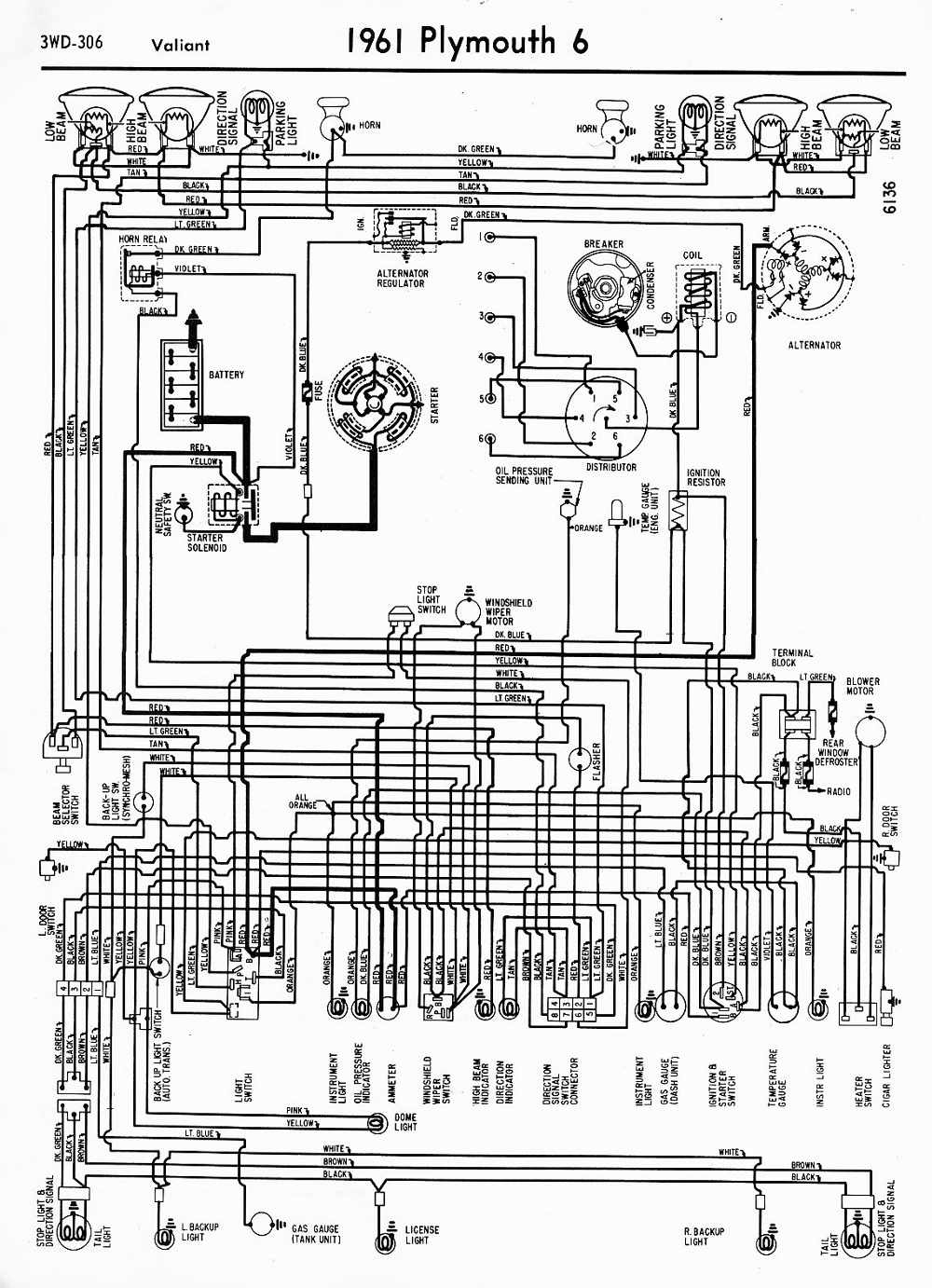 medium resolution of 1954 plymouth belvedere wiring diagram 38 wiring diagram mopar ignition switch wiring diagram mopar points ignition