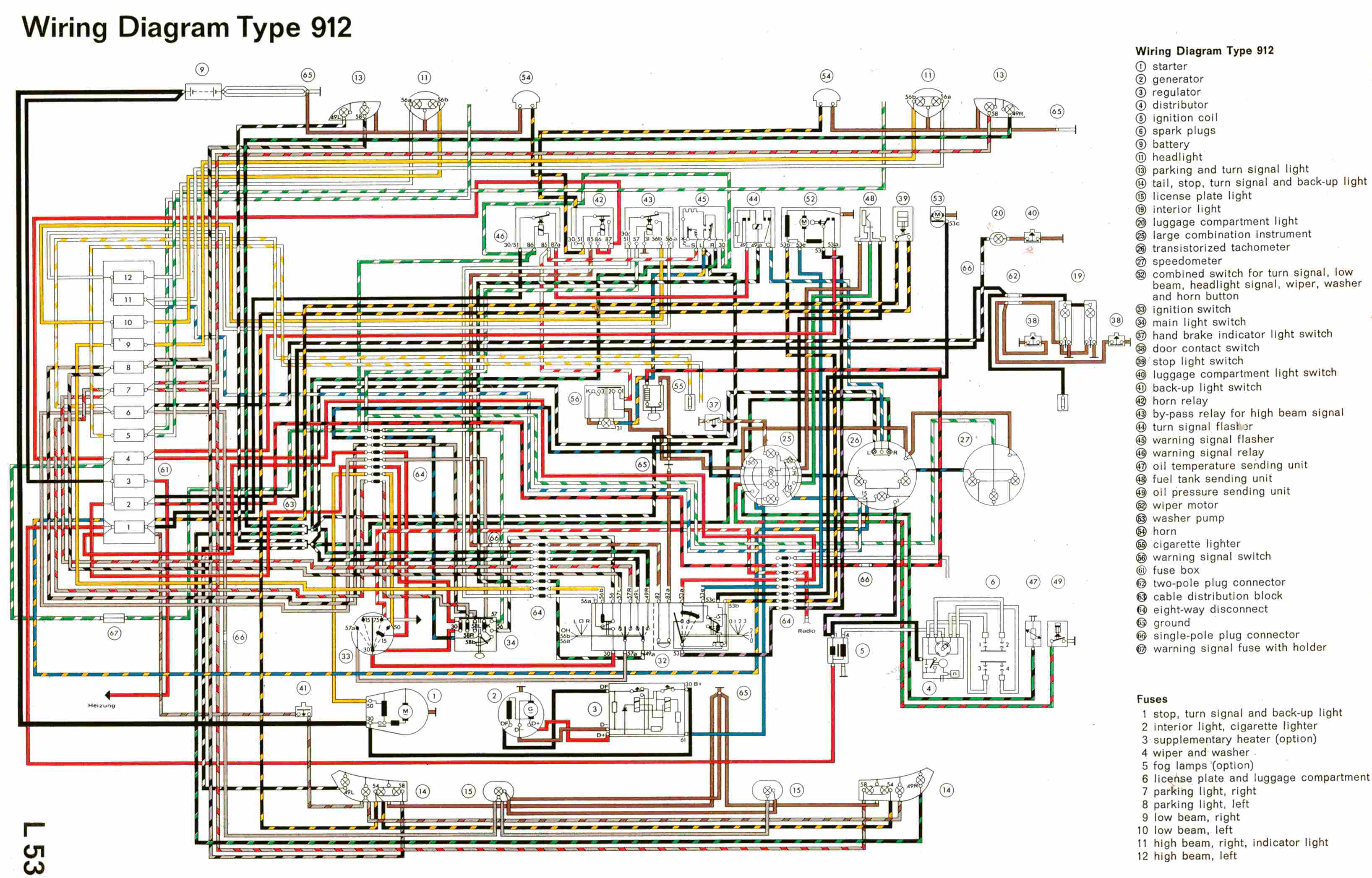 complete electrical wiring diagram of porsche type 912?resized665%2C4266ssld1 porsche 914 wiring diagram efcaviation com fuse box diagram 1975 porsche 914 at crackthecode.co