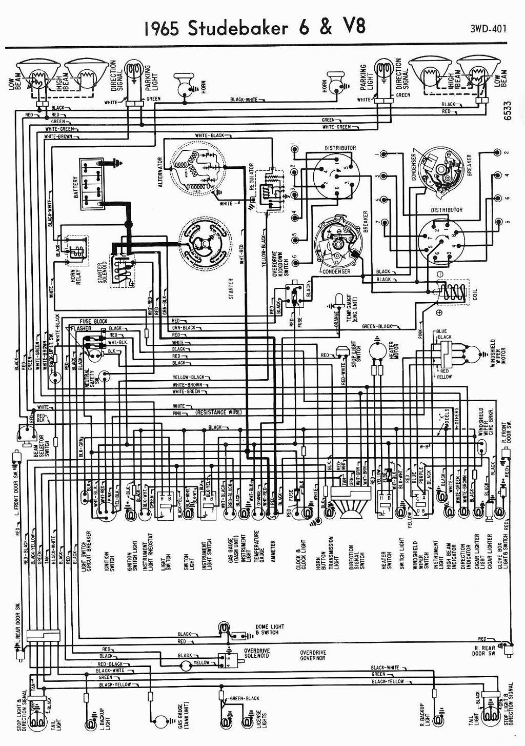 1953 studebaker commander wiring diagram block and schematic 51 studebaker wiring diagram [ 1024 x 1454 Pixel ]