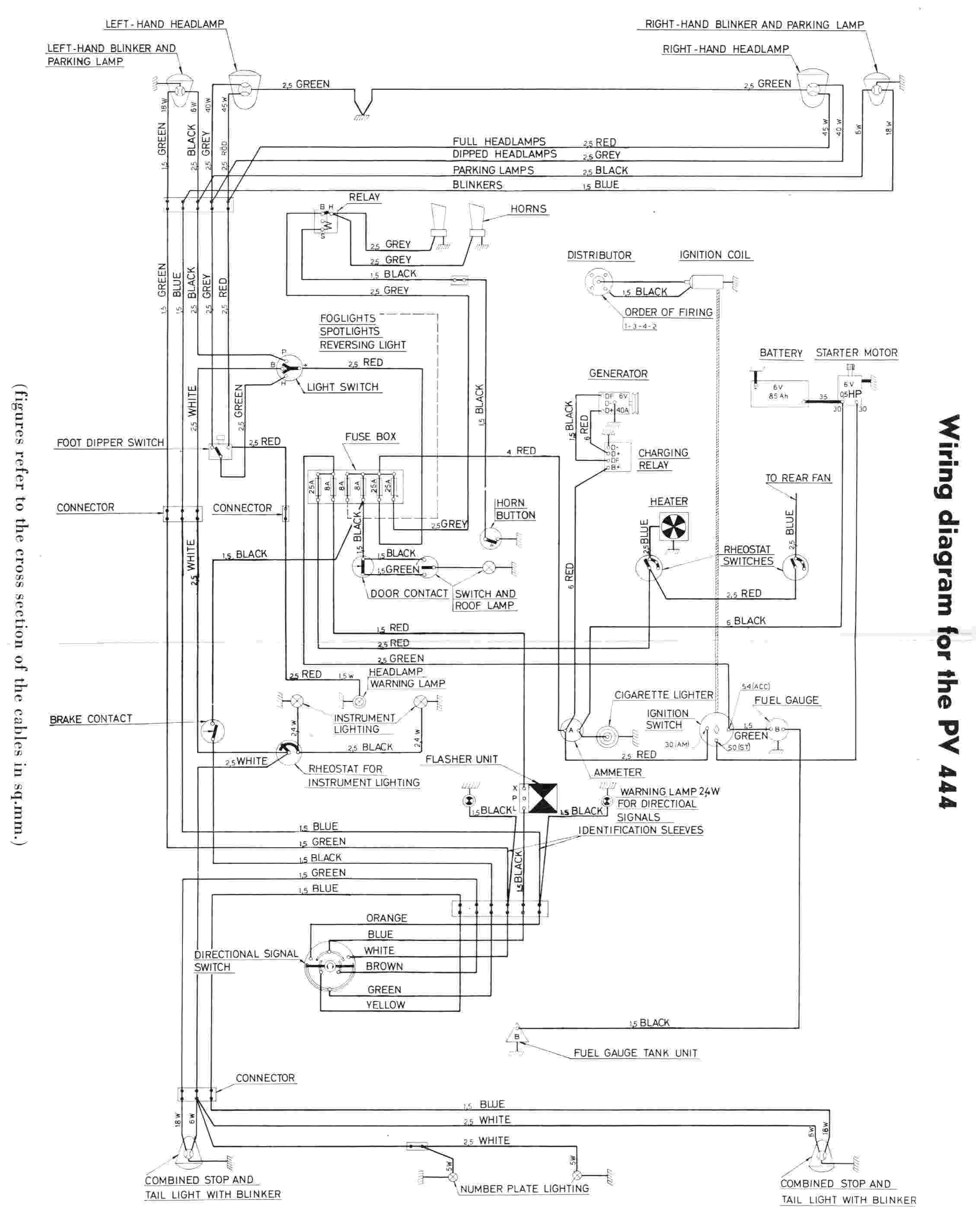 volvo amazon wiring diagram wiring diagram online rh 12 51 shareplm de volvo penta wiring schematics volvo xc70 electrical diagrams [ 2258 x 2850 Pixel ]