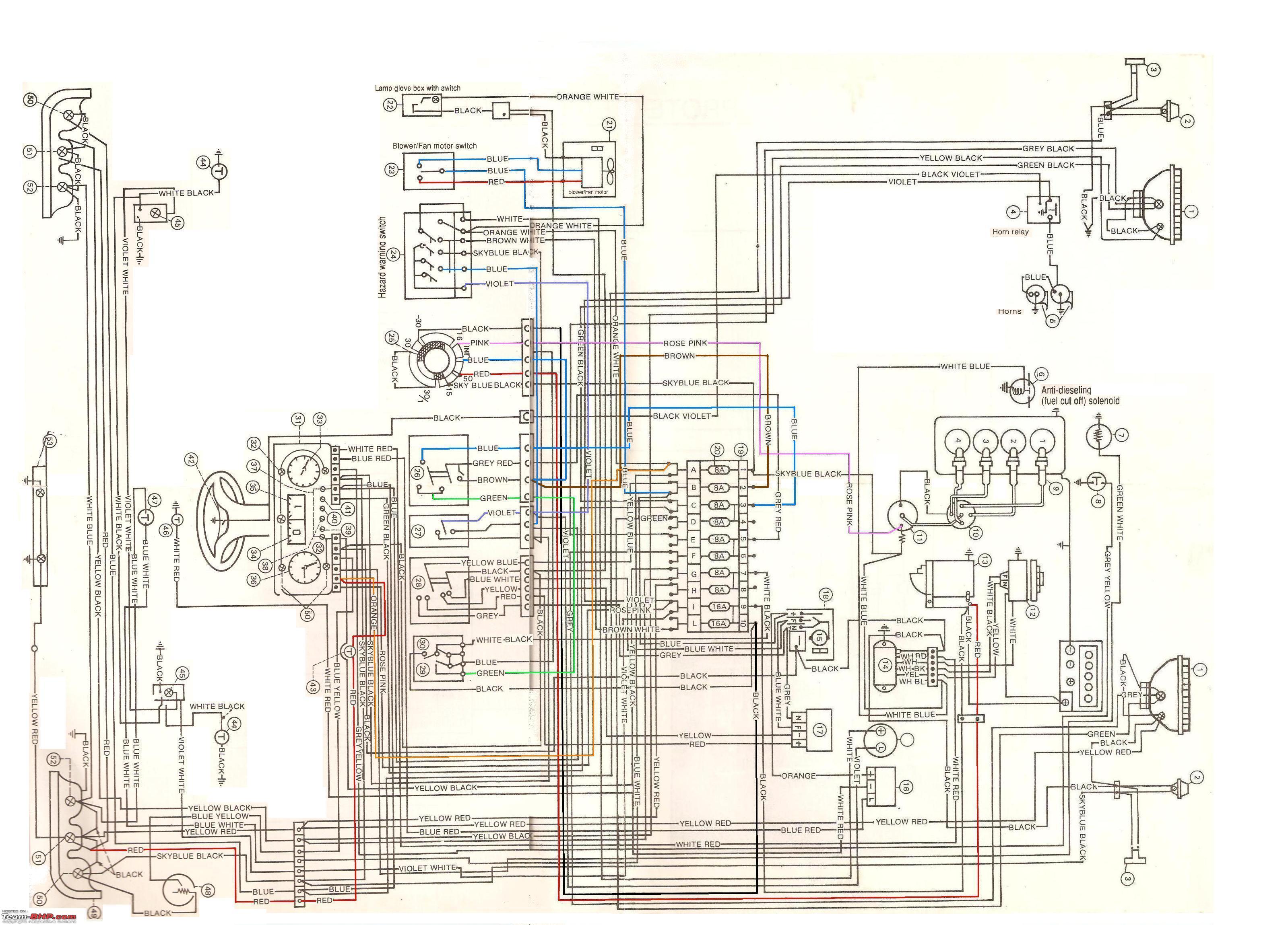 medium resolution of maruti 800 wiring diagram