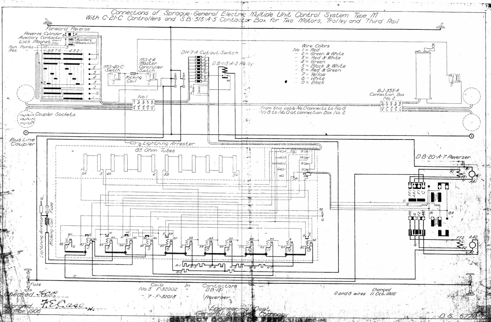 electrical wiring format